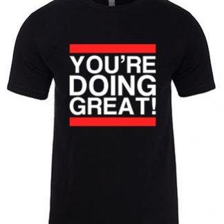 YDG Unisex Black T-shirt