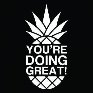 Pineapple Monotone White
